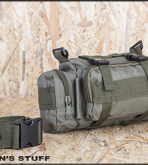 Σακίδιο μέσης 8L με 10 εσωτερικές τσέπε - Tuff Men's Stuff