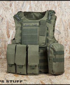 Γιλέκο μάχης Plate Carrier με ειδική θέση για πλάκες προστασίας - Tuff Men's Stuff